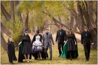 Jocelyn & Julian {married!} - A Devonian Garden Halloween ...