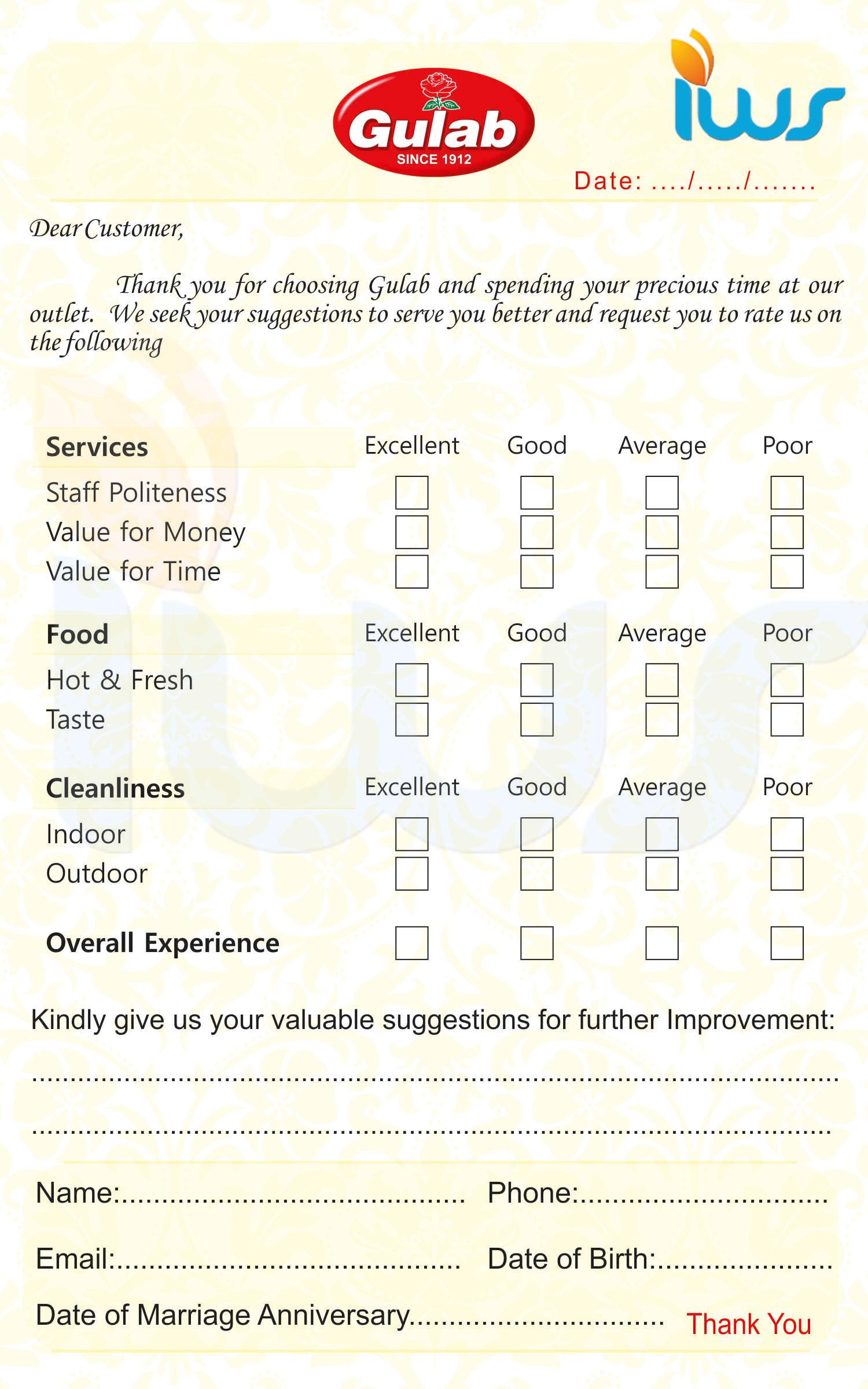 Eliciting Customer Feedback In Restaurant Restaurant Customer Satisfaction  Surveys From Infosurv Restaurant Customer Satisfaction Surveys Help
