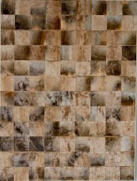 Blesbook Carpet 20x20 Natural Cowhide Rug from the Cowhide ...