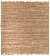 Surya Jute Natural Wheat Solid Modern Rug from the Sisal ...