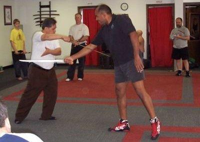 Mang Romy Macapagal teaches Kalis Ilustrisimo