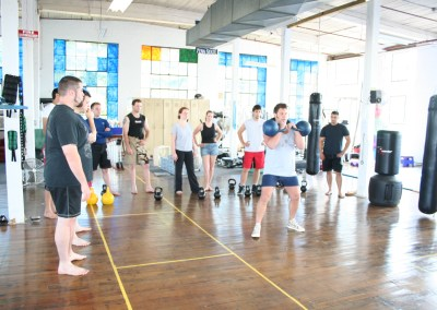 Kettlebell training at the 2007 ECE
