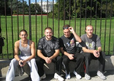 Washington DC and Parkour with Primal Fitness