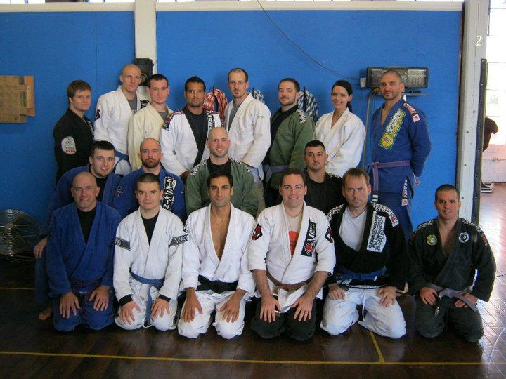 Roy Dean Brazilian Jiu-Jitsu seminar at MSDC