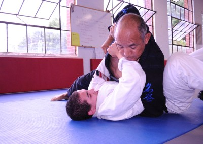 Simon tests for BJJ Blue Belt