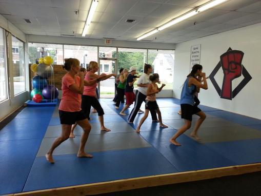 Women's Kickboxing Bootcamp at MSDC
