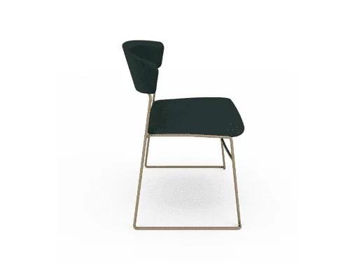 dining room wolfgang metal chair