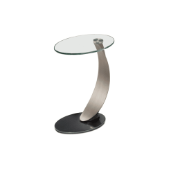 living room scoop side table