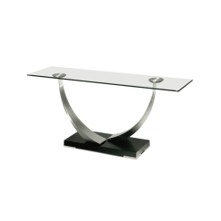 living room tangent console table