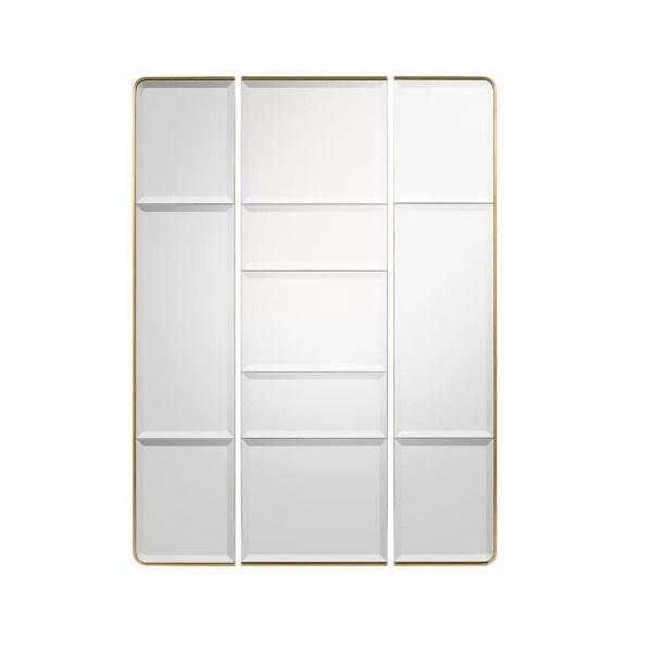 wall mirrors burgio triptic