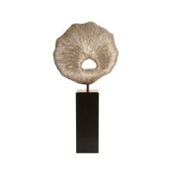accessories colossal fungia in silver leaf