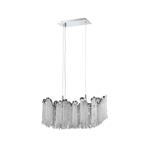 lighting ellena linear chandelier