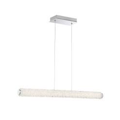 lighting sassi 36-inch linear chandelier