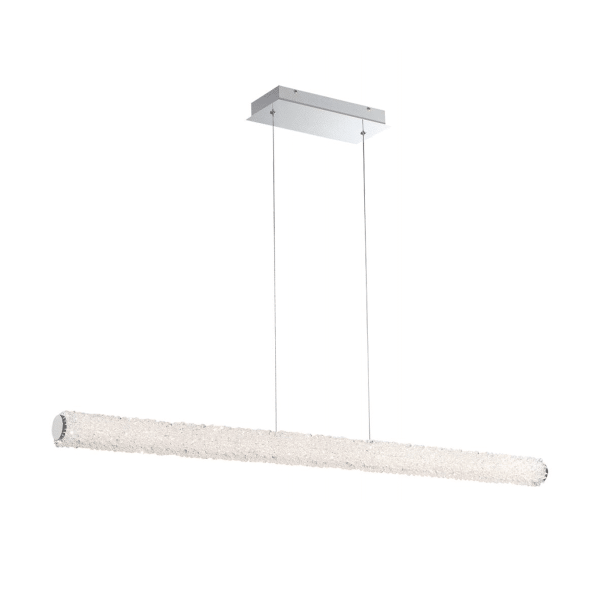 lighting sassi 48-inch linear chandelier