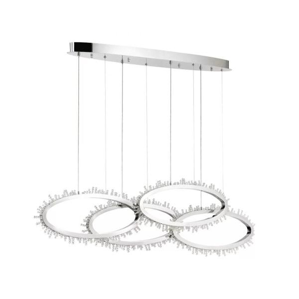 lighting scoppia 51-inch chandelier
