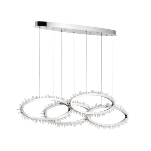 lighting scoppia 51-inch chandelier