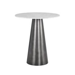 leonie bar table gunmetal