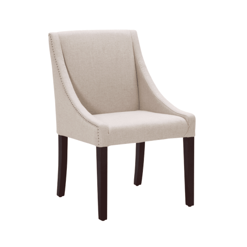 dining room lucille chair in linen