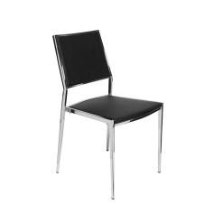 dining room aaron chair black