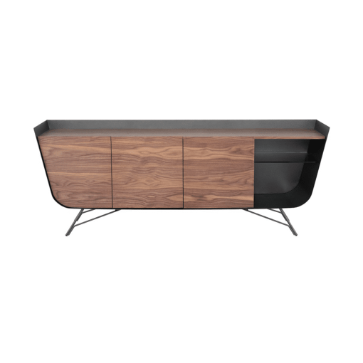 dining room noori sideboard walnut and titanium