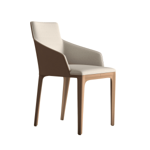 dining room oxford chair in raw linen
