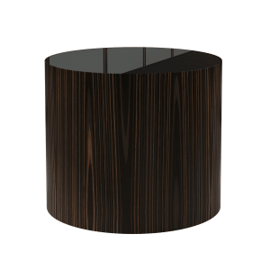 living room berkeley side table black glass
