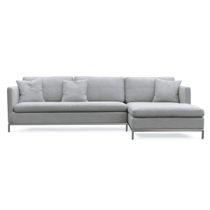 living room istanbul sectional grey fabric