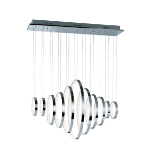 lighting hoops linear pendant
