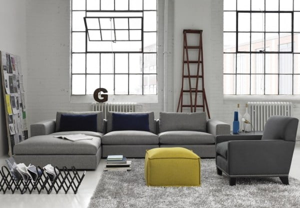 gault sectional sofa