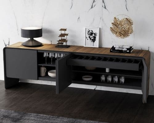 luxury sideboard condo furniture in toronto