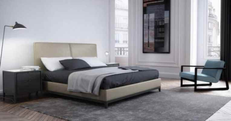 the winston bed from modern sense furniture