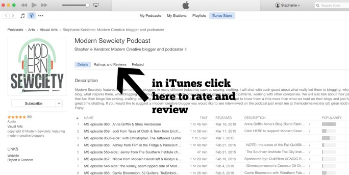itunesMS rate