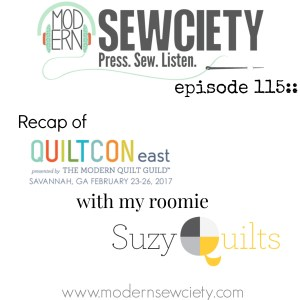 Quiltcon2017 recap with Suzy Quilts