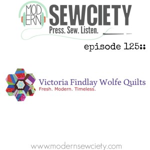 Episode 125 art for victoria finlay wolfe