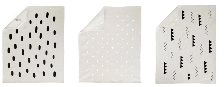 cotton and flax tea towels