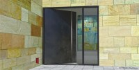 Modern Steel Doors | Custom Pivot Doors, Glass Doors ...