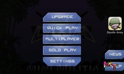 %mini militia game play screen shot