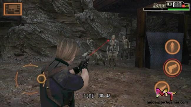 %resident evil 4 gameplay screen shot