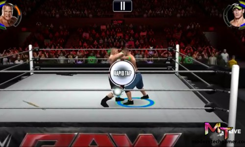 wwe 2k gameplay screen shot