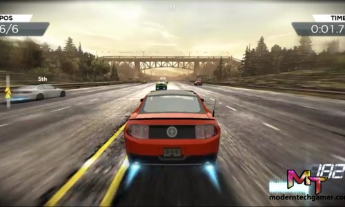 %need for speed most wanted gameplay screen shot