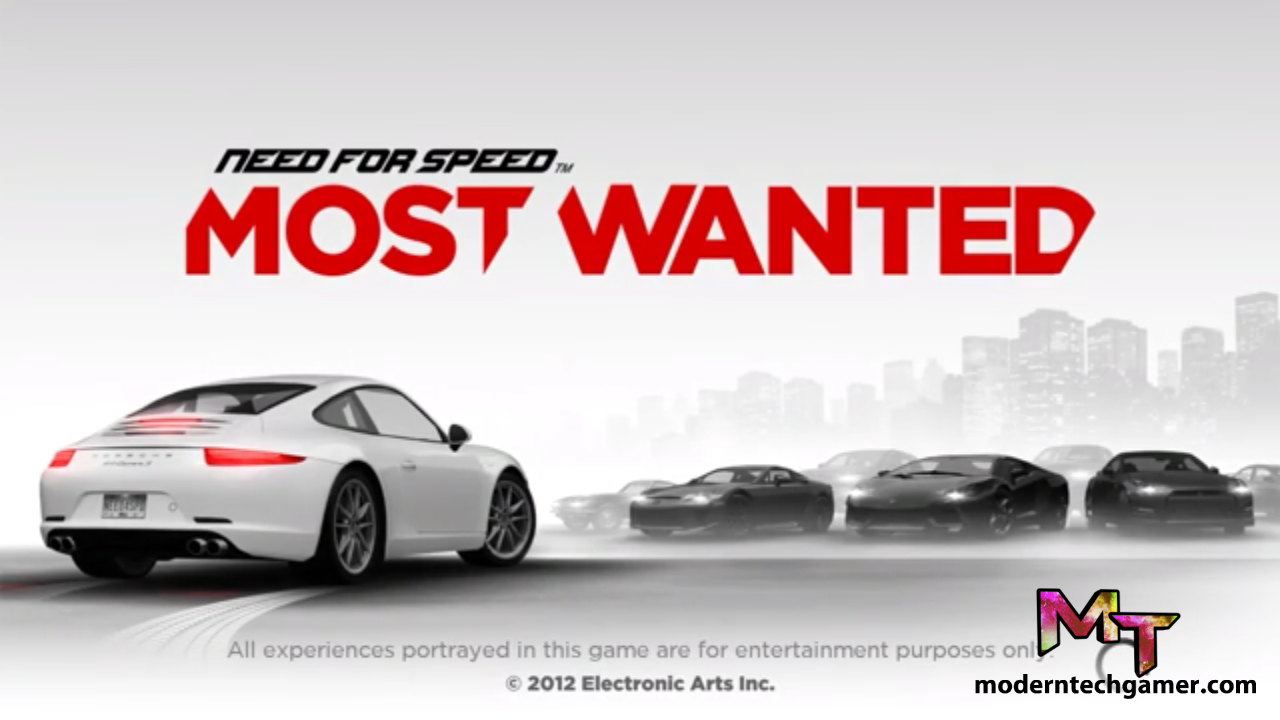 Need For Speed Most wanted v1.3.112 Apk +Mod+OBB Data Download For Android