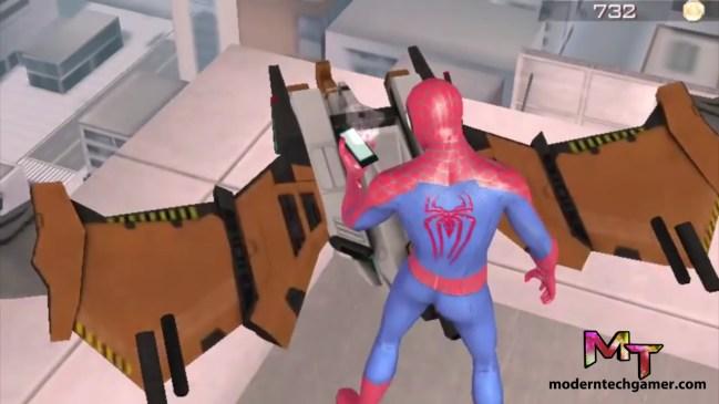 %the amazing spiderman 2 gameplay screen shot