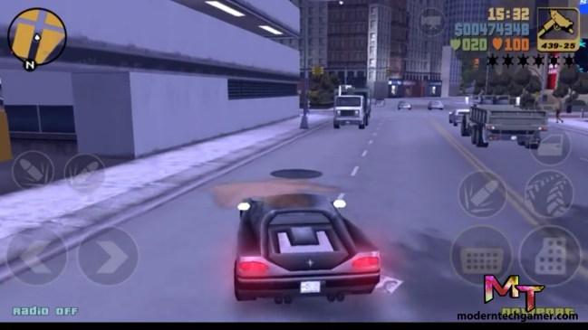 %gta 3 gameplay screen shot