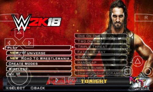 wwe 2k18 gameplay screenshot 1