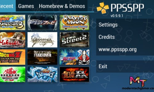 PPSSPP Gold Apk screen shot 3