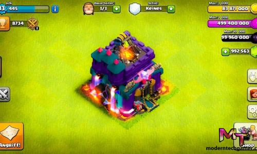 Clash of Clans Mod Apk Download (Unlimited Troops/Gems)