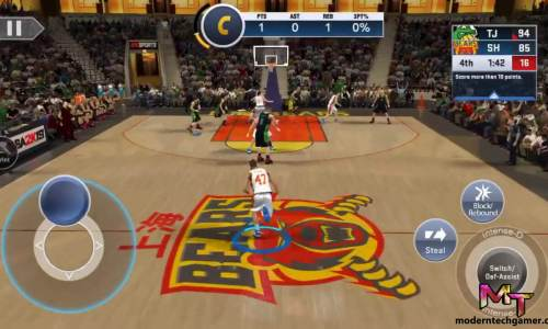 nba 2k19 apk gameplay 3