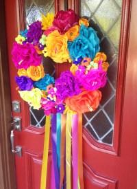 How-To: DIY Fiesta Wreath - Modern Tejana
