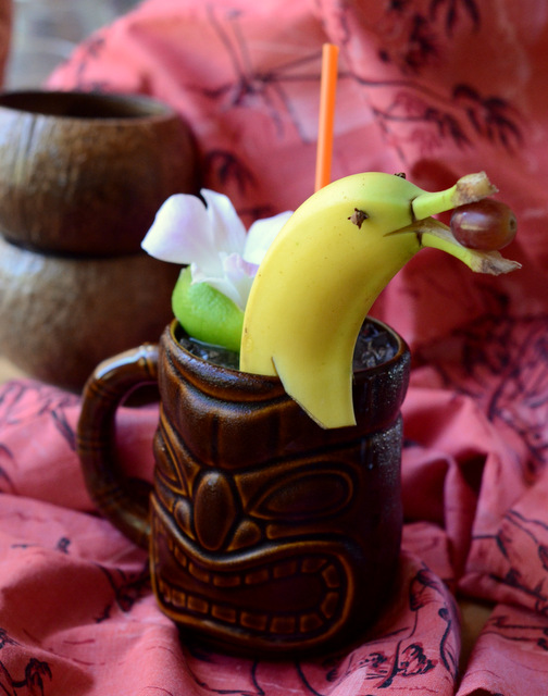 Banana Dolphin Punch