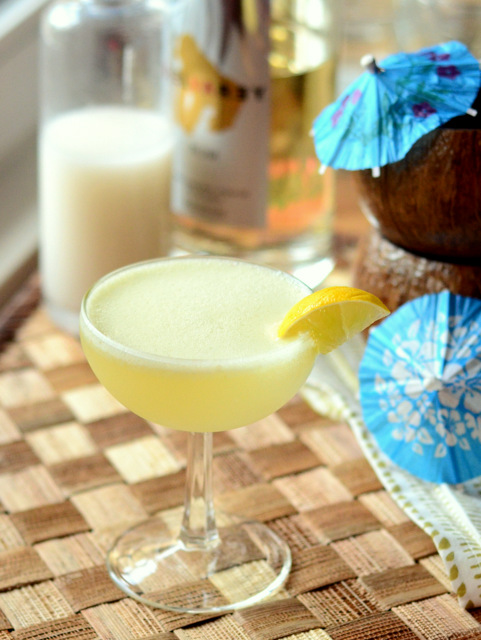 Not Another Piña Colada, a shaken tiki cocktail